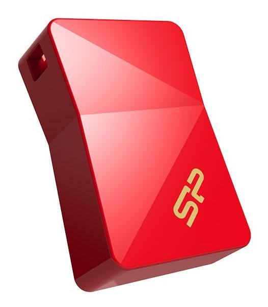 Флешка Silicon Power Jewel J08 16ГБ USB3.0 красный (SP016GBUF3J08V1R) - фото 2