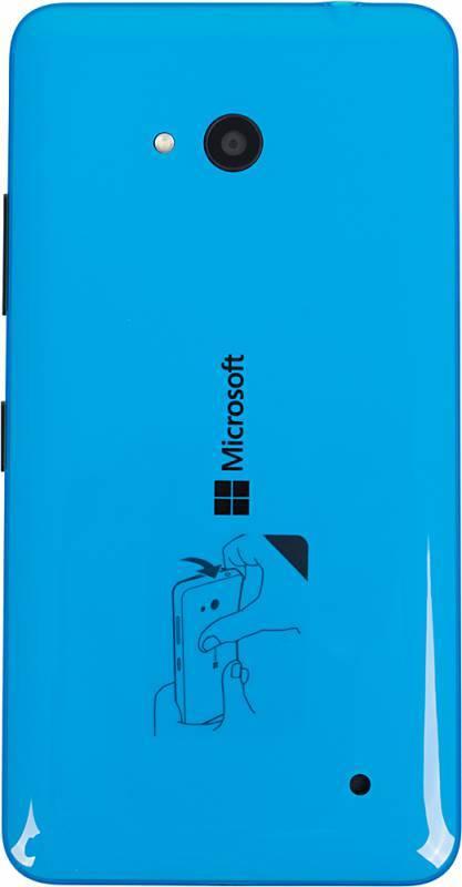 Смартфон Microsoft Lumia 640 синий - фото 2