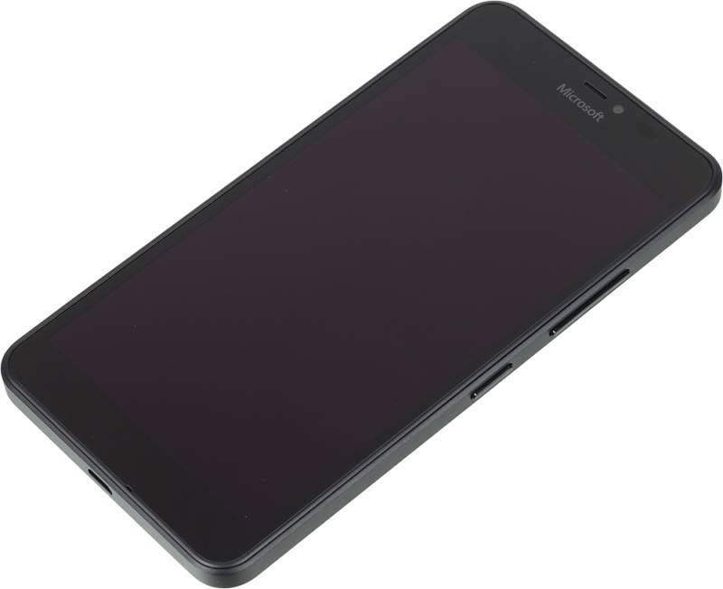 Смартфон Microsoft Lumia 640 XL черный - фото 4
