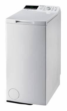 Стиральная машина Indesit ITW E 71252 G (RF), белый корпус, цвет крышки белый, вертикальная загрузка до 7кг, максимальная скорость отжима 1200об/мин