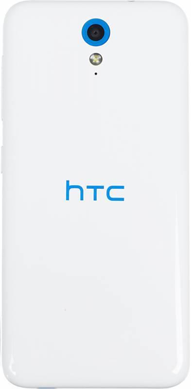 Смартфон HTC Desire 620G белый/синий - фото 2