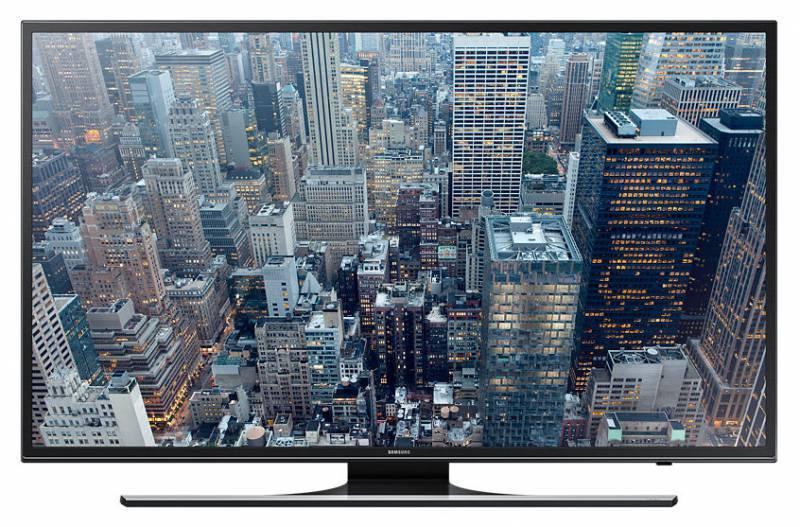 """Телевизор LED 55"""" Samsung UE55JU6450UXRU черный - фото 1"""