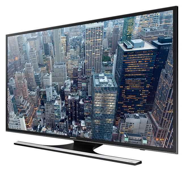 """Телевизор LED 55"""" Samsung UE55JU6450UXRU черный - фото 2"""