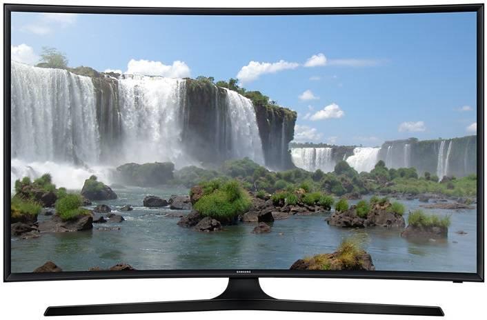 """Телевизор LED 55"""" Samsung UE55J6500AUXRU черный - фото 1"""
