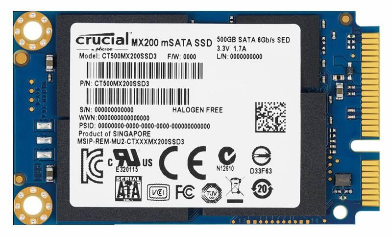 Накопитель SSD Crucial MX200 CT250MX200SSD3  250Гб SATA III - фото 1