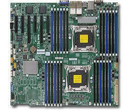 Серверная материнская плата Soc-2011 SuperMicro MBD-X10DRI-B eATX