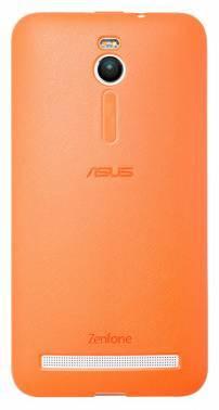 Чехол Asus PF-01, для Asus ZenFone 2 ZE550ML / ZE551ML, оранжевый (90XB00RA-BSL2X0)