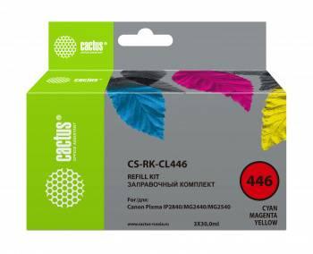 Заправочный набор Cactus CS-RK-CL446 многоцветный