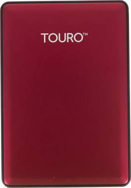 Внешний жесткий диск 1Tb HGST HTOSEA10001BCB Touro S красный USB 3.0