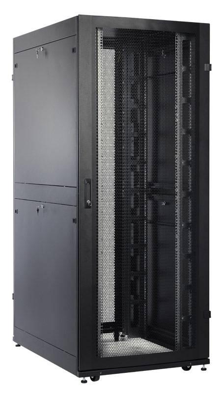 Шкаф серверный ЦМО ШТК-СП-42.8.12-48АА-9005 42U черный - фото 1