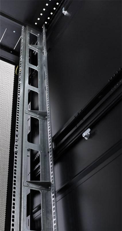 Шкаф серверный ЦМО ШТК-СП-42.8.12-48АА-9005 42U черный - фото 3