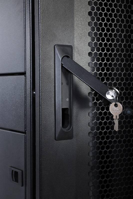 Шкаф серверный ЦМО ШТК-СП-42.8.12-48АА-9005 42U черный - фото 4