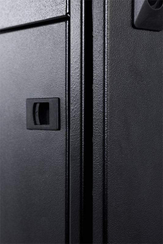Шкаф серверный ЦМО ШТК-СП-42.8.12-48АА-9005 42U черный - фото 5