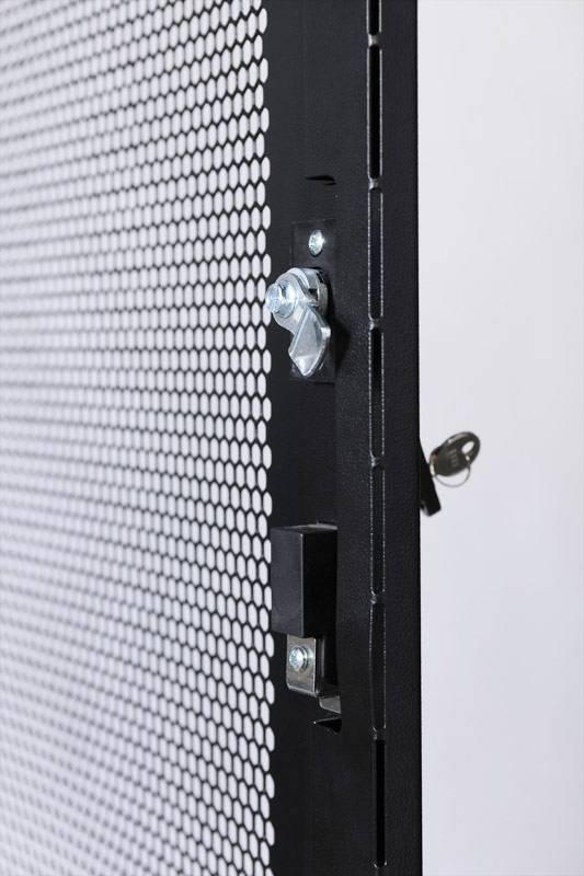 Шкаф серверный ЦМО ШТК-СП-42.8.12-48АА-9005 42U черный - фото 6