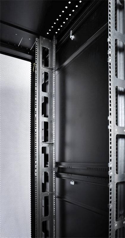 Шкаф серверный ЦМО ШТК-СП-42.8.12-48АА-9005 42U черный - фото 8