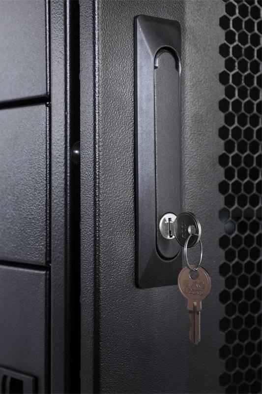 Шкаф серверный ЦМО ШТК-СП-42.8.12-48АА-9005 42U черный - фото 10