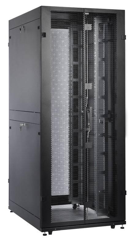 Шкаф серверный ЦМО ШТК-СП-42.8.12-48АА-9005 42U черный - фото 12