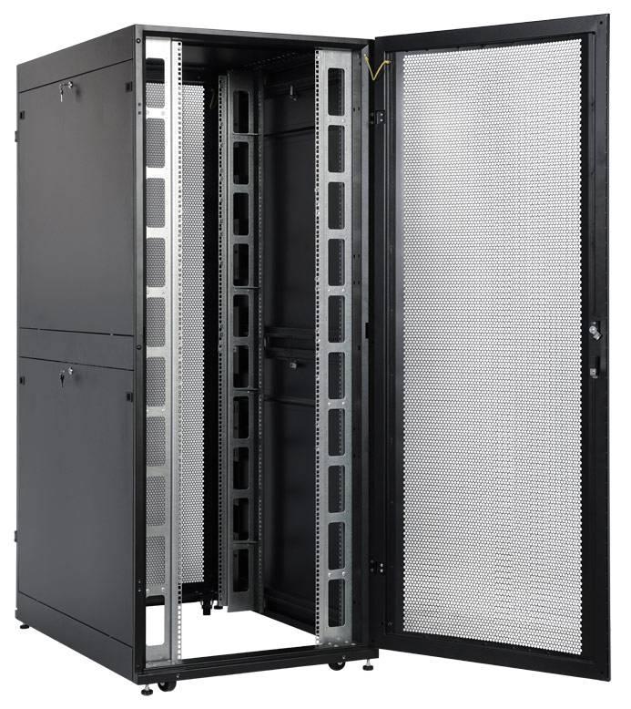 Шкаф серверный ЦМО ШТК-СП-42.8.12-48АА-9005 42U черный - фото 13