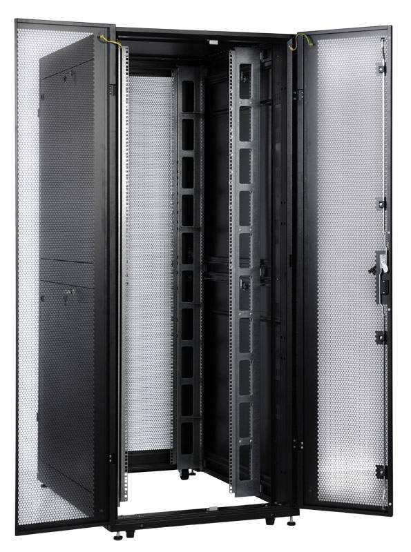 Шкаф серверный ЦМО ШТК-СП-42.8.12-48АА-9005 42U черный - фото 14