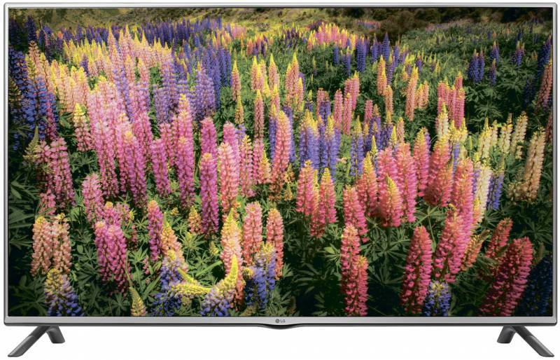 "Телевизор LED 49"" LG 49LF550V серебристый - фото 1"