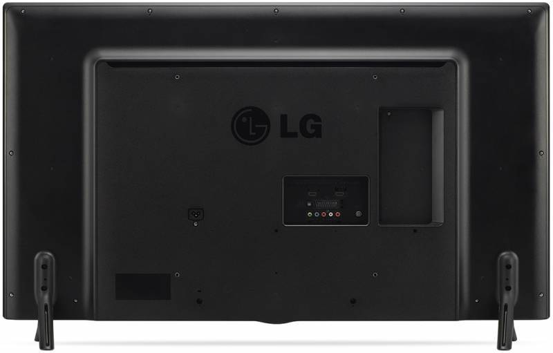 "Телевизор LED 49"" LG 49LF550V серебристый - фото 3"