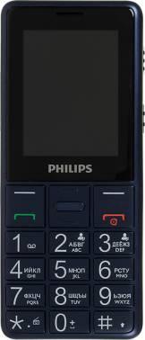 Мобильный телефон Philips Xenium E311 темно-синий