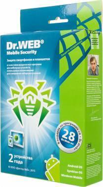 ПО DR.Web Mobile Security 2 устройства 2 годa (BHM-AA-24M-2-A3)