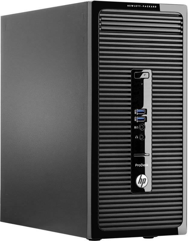 Системный блок HP ProDesk 490 G2 MT черный - фото 1