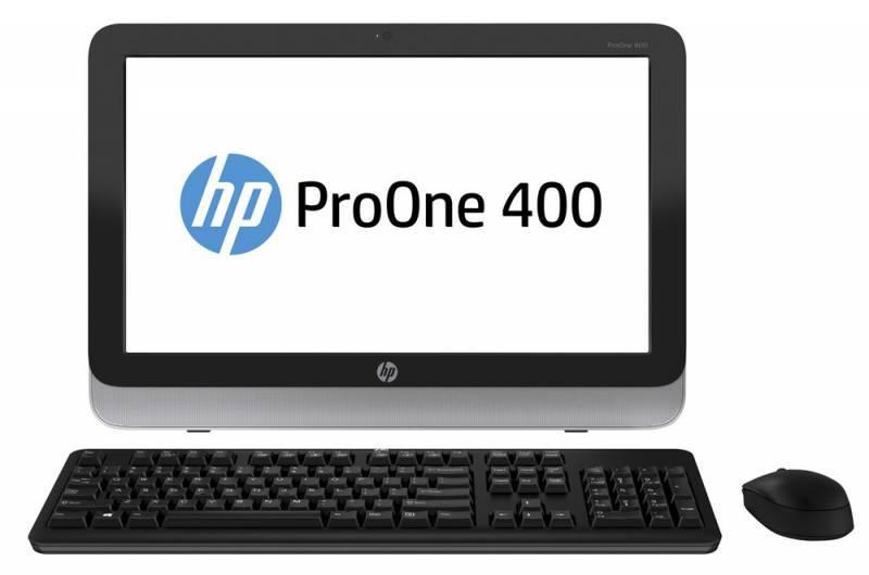 "Моноблок 19.5"" HP ProOne 400 G1 черный/серебристый - фото 1"