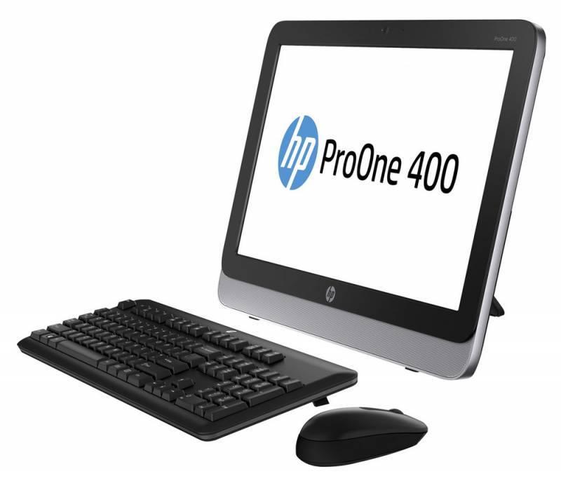 "Моноблок 19.5"" HP ProOne 400 G1 черный/серебристый - фото 2"