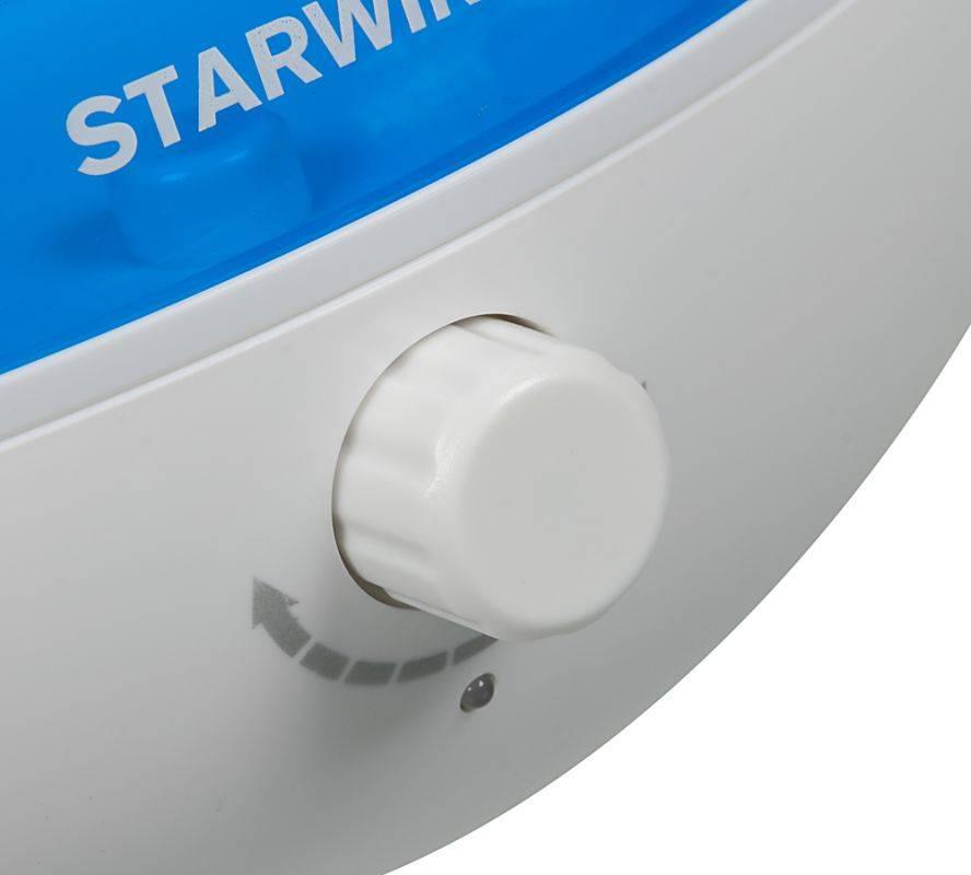 Увлажнитель воздуха Starwind SHC2416 белый/синий - фото 9