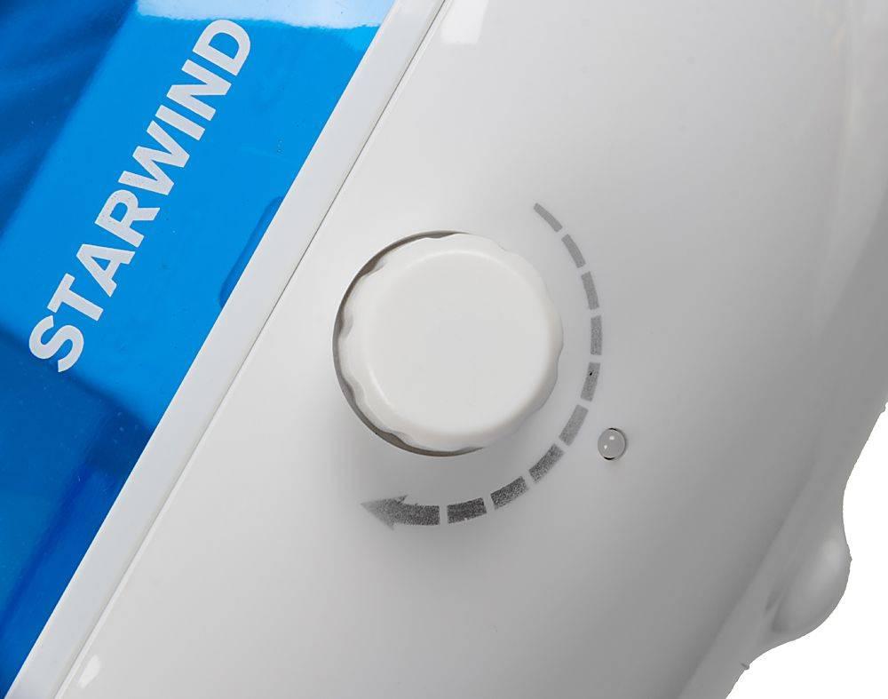 Увлажнитель воздуха Starwind SHC2416 белый/синий - фото 11