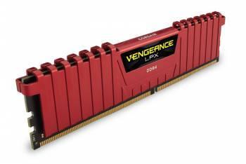 Модуль памяти DIMM DDR4 4Gb Corsair Vengeance LPX (CMK4GX4M1A2400C14R)