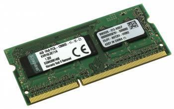 Модуль памяти SO-DIMM DDR3L 4Gb Kingston KVR16LSE11 / 4