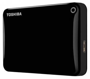 Внешний жесткий диск 1Tb Toshiba HDTC810EK3AA Canvio Connect II черный USB 3.0