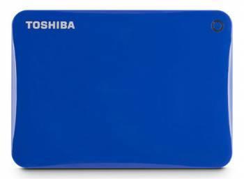 Внешний жесткий диск 1Tb Toshiba HDTC810EL3AA Canvio Connect II синий USB 3.0