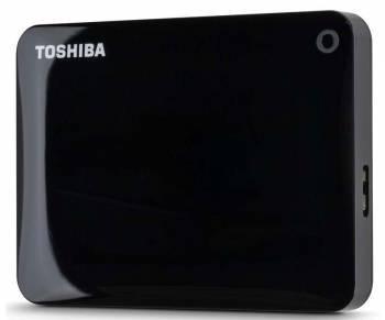 Внешний жесткий диск 2Tb Toshiba HDTC820EK3CA Canvio Connect II черный USB 3.0