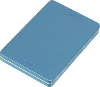 Внешний жесткий диск 500Gb Toshiba HDTH305EL3AA Canvio Alu голубой USB 3.0