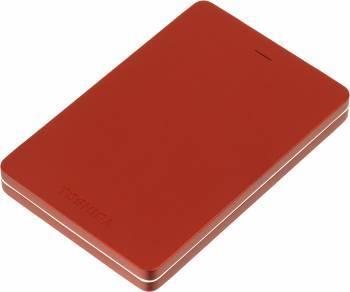 Внешний жесткий диск 500Gb Toshiba HDTH305ER3AA Canvio Alu красный USB 3.0