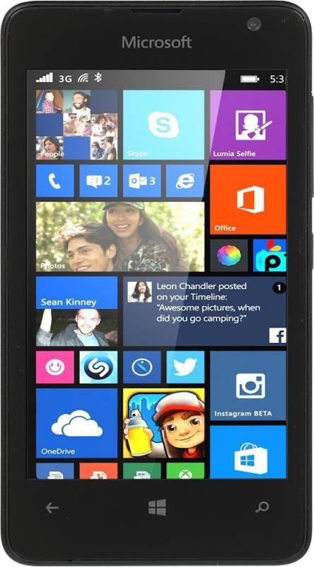 Смартфон Microsoft Lumia 430 DUAL SIM черный - фото 1