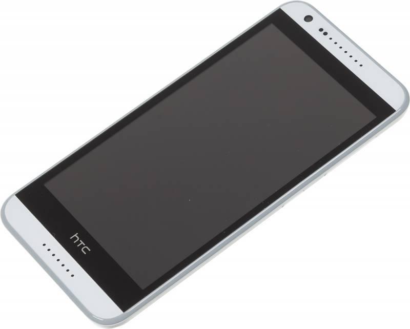Смартфон HTC Desire 620G белый/серый - фото 4