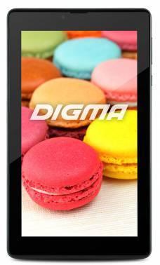 Планшет Digma Plane 7.71 3G черный, процессор Intel Atom x3-C3130, оперативная память 1Gb, встроенная память 8Gb, диагональ экрана 7, IPS, 1024x600, поддержка 3G, WiFi, BT, камера 0.3Mpix/0.3Mpix, GPS, Android 4.4, поддержка microSDHC до 32Gb, 3000mAh (P