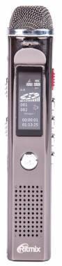 Диктофон 4Gb Ritmix RR-150 титан (15117960)