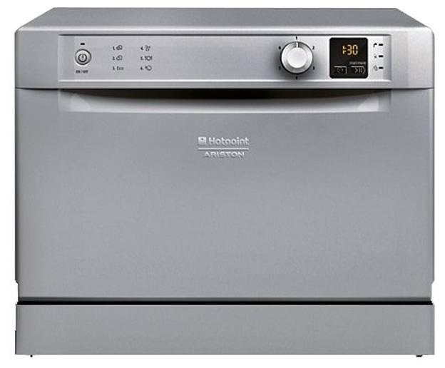 Посудомоечная машина Hotpoint-Ariston HCD 662 S EU серебристый - фото 1