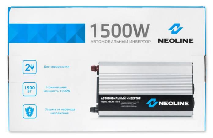 Преобразователь напряжения Neoline 1500W - фото 4