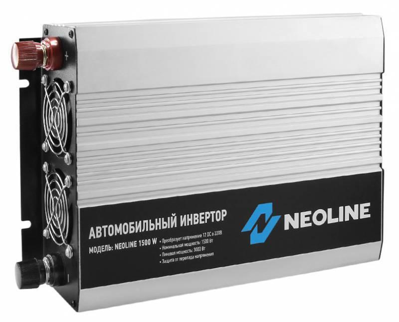 Преобразователь напряжения Neoline 1500W - фото 2