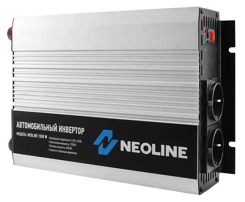 Преобразователь напряжения Neoline 1500W - фото 3