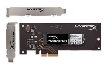 Накопитель SSD 480Gb Kingston HyperX SHPM2280P2H/480G PCI-E x4 - фото 1