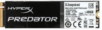Накопитель SSD 480Gb Kingston HyperX Predator SHPM2280P2 / 480G PCI-E x4