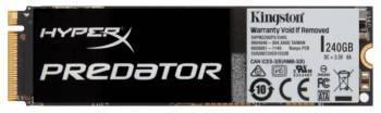 Накопитель SSD 240Gb Kingston HyperX Predator SHPM2280P2 / 240G PCI-E x4